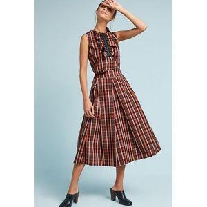 New Anthropologie Cascata Top + Skirt by Tela